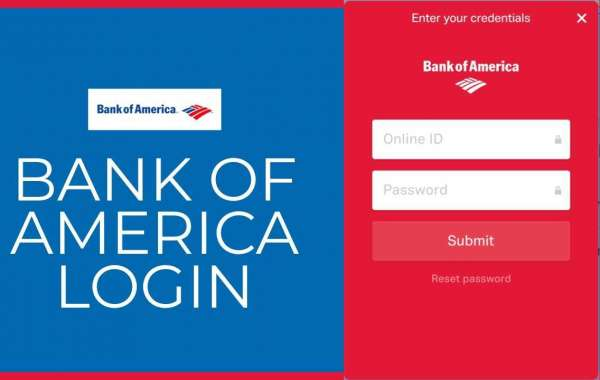 How to locate and use the bank of America login account?